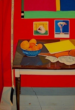 Studio Still Life With Hockey Stick 2003